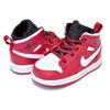 NIKE AIR JORDAN 1 MID BT gym red/white 640735-605画像