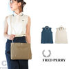 FRED PERRY Lady's #F5316 Sleeveless Pique Shirt画像
