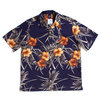 APPLEBUM Flower Aloha S/S Shirt NAVY画像