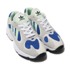 adidas Originals YUNG-1 RUNNING WHITE/GLOW GREEN/COLLEGE ROYAL EE5318画像