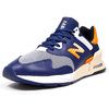 new balance MS997JHE BLUE/YELLOW画像
