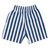 COOKMAN Chef Short Pants Wide Stripe NAVY画像