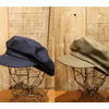 FREEWHEELERS UNION SPECIAL OVERALLS MARINE CAP Vintage Sulfide Dyed Military Back Satin 1927006画像
