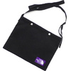 THE NORTH FACE PURPLE LABEL Suede Shoulder Bag BLACK NN7925N画像