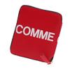 COMME des GARCONS Huge Logo Bi-fold Wallet RED画像
