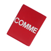 COMME des GARCONS Huge Logo Card Case RED画像