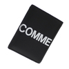COMME des GARCONS Huge Logo Card Case BLACK画像