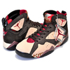 NIKE AIR JORDAN 7 RETRO PATTA shimmer/tough red-velvet brown AT3375-200画像