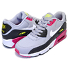 NIKE AIR MAX 90 LTR(GS) wolf grey/white-rush pink-volt 833412-028画像