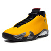 "NIKE AIR JORDAN 14 RETRO SE ""REVERSE FERRARI"" UNIVERSITY GOLD/BLACK/OR UNIVERSITE/NOIR BQ3685-706画像"