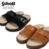 Schott LEATHER MOULDED SANDAL 409519102画像