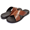 COLE HAAN GOLDWYN 2.0 CRISSCROSS SANDAL british tan smooth C30536画像