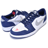 "NIKE SB AIR JORDAN 1 LOW QS ""ERIC KOSTON"" midnight navy/meetallic silver CJ7891-400画像"