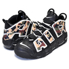 NIKE AIR MORE UPTEMPO 96 QS BLACK CAMO black/sail-lt british tan CJ6122-001画像