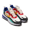 NIKE AIR MAX 270 REACT PHANTOM/UNIVERSITY GOLD-UNIVERSITY RED AO4971-002画像