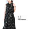 FRED PERRY Lady's #F8463 PolkaDot Sleeveless Shirt画像