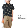 FRED PERRY Lady's #F8467 PolkaDot Polo画像