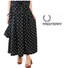 FRED PERRY Lady's #F8486 PolkaDot Skirt画像