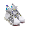 NIKE WMNS JORDAN AIR LATITUDE 720 WHITE/DYNAMIC YELLOW-METALLIC SILVER AV5187-100画像