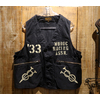 "FREEWHEELERS UNION SPECIAL OVERALLS ""MUROC RACING ASSN."" Vintage Sulfide Dyed Military Back Satin 1921019画像"
