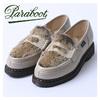 paraboot ORSAY/GRIFF MARRON-ENGR NEIGE/LAPIN 150171画像