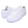 NIKE AIR JORDAN 1 LOW white/white-white 553558-112画像