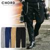 CHORD NUMBER EIGHT T/C TWILL SLIT PANTS CH01-01K5-PL09画像