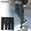 CHORD NUMBER EIGHT SIDE LINE CHECK CROPPED PANTS CH01-01K5-PL07画像