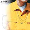 CHORD NUMBER EIGHT DOUBLE STRAND LONG CHAIN(THIN TYPE) CHA1-01K5-AC03画像