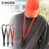 CHORD NUMBER EIGHT JACQUARD TAPE NECKLACE CH01-01K5-AC07画像