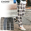 CHORD NUMBER EIGHT HERRINGBONE OMBRE CHECK PANTS CH01-01K5-PL08画像