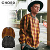 CHORD NUMBER EIGHT CHECK SHAGGY KNIT CH01-01K5-KN03画像
