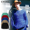 CHORD NUMBER EIGHT MOHAIR KNIT CH01-01K5-KN01画像