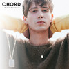 CHORD NUMBER EIGHT PLATE NECKLACE CHA1-01K5-AC02画像