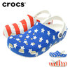 crocs CLASSIC AMERICAN FLAG CLOG 205974画像