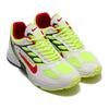 NIKE AIR GHOST RACER WHITE/ATOM RED-NEON YELLOW-DARK GREY AT5410-100画像