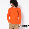 AVIREX HONEYCOMB WAFFLE L/S T-SHIRT 6193466画像