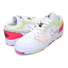 NIKE AIR JORDAN 1 LOW(GS) white/black-ember glow 554723-176画像
