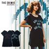 CRIMIE WOMEN MINI ONE PIECE T SHIRT CR02-01K5-TP01画像