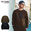 CRIMIE LOGO CREW POCKET SWEAT CR01-01K5-CL65画像