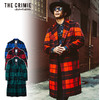 CRIMIE WOOL CHECK CHESTER COAT CR01-01K5-JK05画像