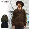 CRIMIE CASHMERE MELTON REVER COVER ALL JAKCET CR01-01K5-JK21画像