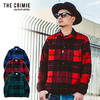 CRIMIE WOOL CHECK SHIRT CR01-01K5-SL03画像