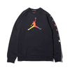 NIKE M J SPRT DNA HBR FLEECE CREW BLACK AV0044-010画像