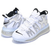 NIKE AIR MORE UPTEMPO 720 QS 1 white/chrome-black BQ7668-100画像
