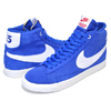 NIKE BLAZER MID QS STRANGER THINGS game royal/white-sail CK1906-400画像