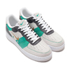 NIKE AIR FORCE 1 '07 PRM 1 WHITE/METALLIC GOLD-BLACK-VAST GREY CI0065-100画像