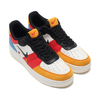 NIKE AIR FORCE 1 '07 PRM 1 SAIL/BLACK-IMPERIAL BLUE-AMBER RISE CI0065-101画像