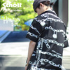 Schott HAWAIIAN SHIRT CHAIN STENCIL 3195043画像