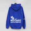 WILDTHINGS × GASIUS FABRICK HOODED SWEAT画像